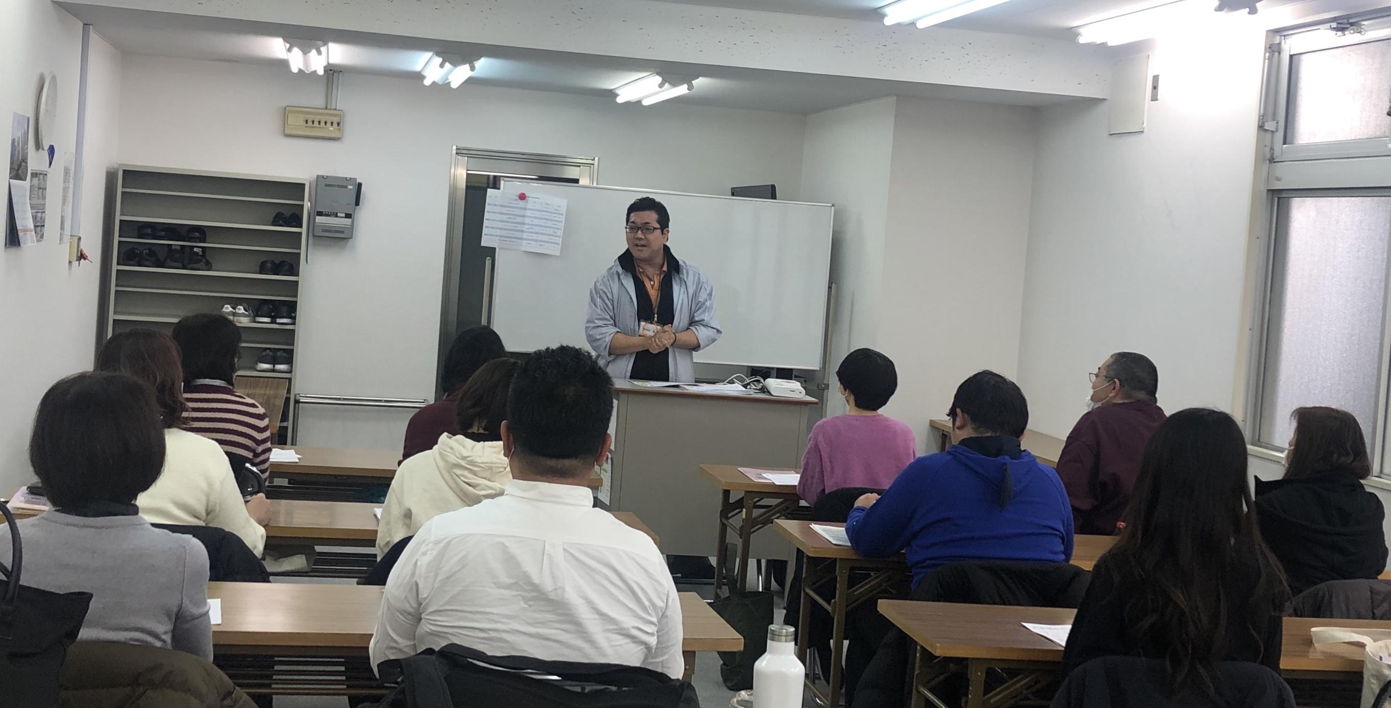 藤仁館医療福祉カレッジ 南浦和校にて事業所説明会をさせて頂きました♪